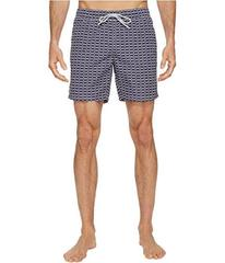 Lacoste All Over Print Swim Medium Length