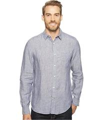 Nautica Long Sleeve Resort Solid Linen