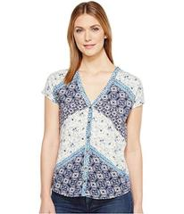 Lucky Brand Bali Ditsy Top
