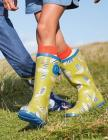 Printed Wellies