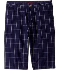 Lacoste Windowpane Check Bermuda Shorts (Little Ki