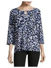 JONES NEW YORK Open Cutout Blouse