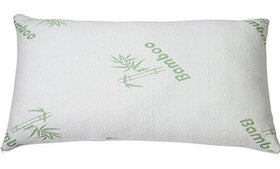 Bamboo Hypoallergenic King Size Memory Foam Pillow