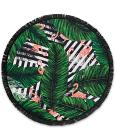 CLOSEOUT! Lamont Bonfire Bay Flamingo Cabana Round