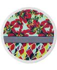 CLOSEOUT! Lamont Bonfire Bay Summer Blossoms Round