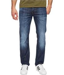 G-Star Attacc Straight Fit Jeans in Blue Denim Str