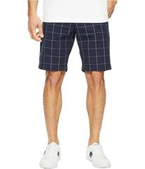Lacoste Windowpane Check Bermuda Shorts