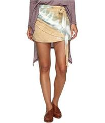 Free People When the Tide Turns Mini Skirt