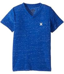 Hurley Cloud Slub Staple V-Neck Tee (Little Kids)