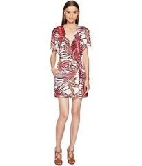 Just Cavalli Temptation Printed Wrap Dress