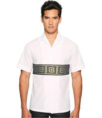 Versace Collection Short Sleeve Button Down