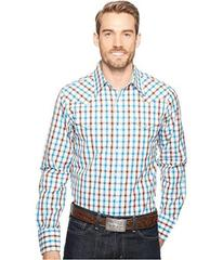 Stetson 1149 Teal Ombre Check