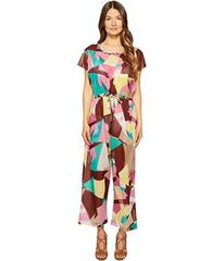 M Missoni Abstract Print Cotton Voile Jumpsuit