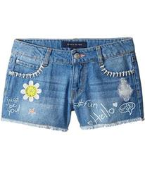 Tommy Hilfiger Denim Shorts with Art and Patches i