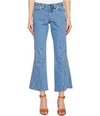See by Chloe Denim Pants w/ Embroidery