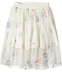Stella McCartney Darci Tulle Skirt with Skates Emb