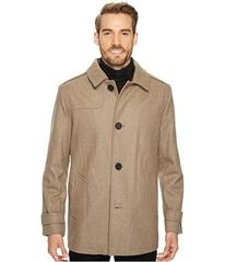 Kenneth Cole New York Button Front Wool Coat