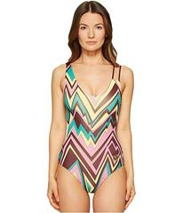 M Missoni Retro Zigzag One-Piece