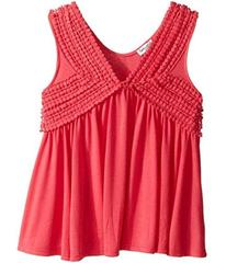 Splendid Littles V-Neck Tank Top with Lace Trim (B