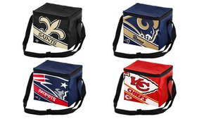 Forever Collectibles NFL Big Logo Stripe 6-Pack Co