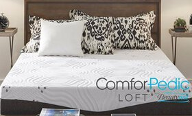 "ComforPedic Loft from BeautyRest 12"" NRGel Memory  on sale at Groupon.com"