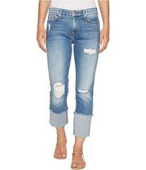 7 For All Mankind Fashion Boyfriend Jeans w/ Wide