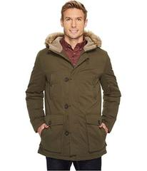 Kenneth Cole New York Poly Cotton Parka with Faux