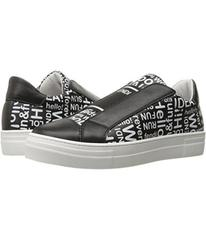 Fendi Word Print Slip-On Sneakers (Big Kid)