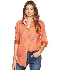 Free People Shore Vibes Button Down Top