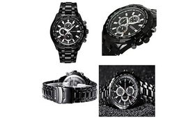 Curren Chronograph Executive Stainless Steel Quart