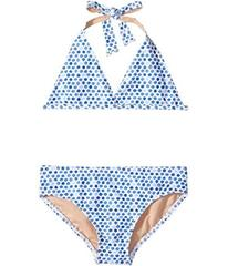 Toobydoo Blue Watercolor Dot Bikini (Infant/Toddle