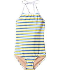 Toobydoo Blue & Yellow Stripe One-Piece (Infant/To