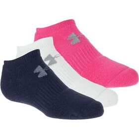 Under Armour Charged Cotton 2.0 No Show Sock - Kid