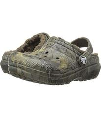 Crocs Kids Classic Lined Clog Realtree Xtra (Toddl