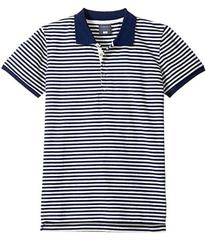 Toobydoo Stripe Polo (Infant/Toddler/Little Kids/B