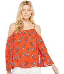 Vince Camuto Long Sleeve Tropic Spritz Cold-Should