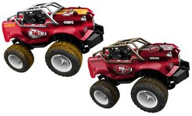Officially Licensed NFL Remote Control Monster Tru