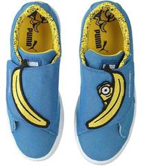 Puma Minions Basket Wrap Statement Denim (Little K