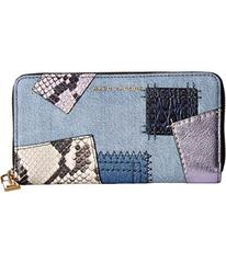 Marc Jacobs Denim Patchwork Standard Continental W