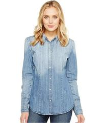 Stetson Ombre Washed Denim Western Shirt