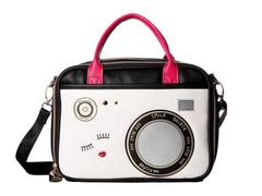 Betsey Johnson Camera Chow Bella Lunch Tote
