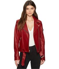 7 For All Mankind Rib Moto Jacket