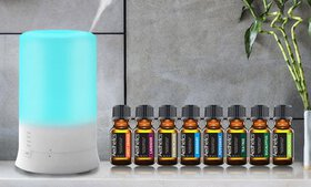Aesthetics Ultrasonic Diffuser and Humidifier with