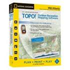NATIONAL GEOGRAPHIC TOPO! Mid-Atlantic Mapping Sof