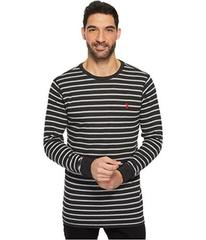 U.S. POLO ASSN. Long Sleeve Striped Crew Neck Ther
