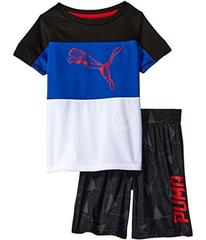 Puma PUMA® Two-Piece Shorts & Tee Set (Little