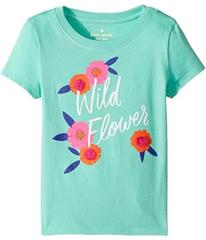 Kate Spade New York Wildflower Tee (Toddler/Little