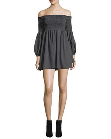 Likely Manning Off-the-Shoulder Mini Dress