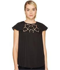 Kate Spade New York Lace Embroidered Top