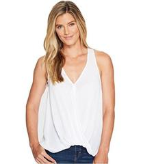 Stetson 1056 Crepe Sleeveless Twist Front Top